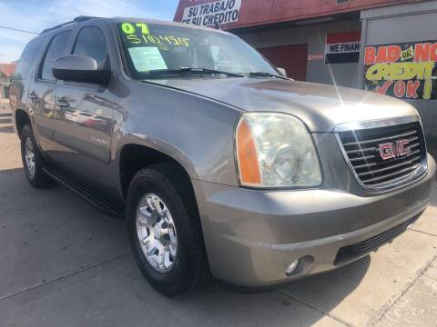 2007 GMC Yukon for sale at Sunday Car Company LLC in Phoenix AZ