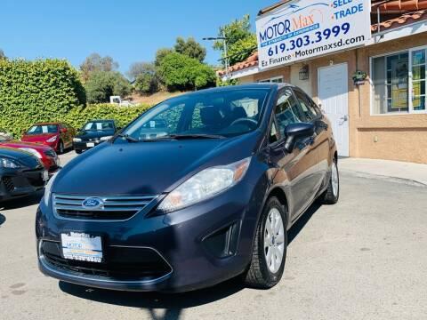 2012 Ford Fiesta for sale at MotorMax in Lemon Grove CA