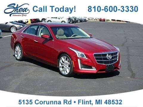 2014 Cadillac CTS for sale at Jamie Sells Cars 810 in Flint MI