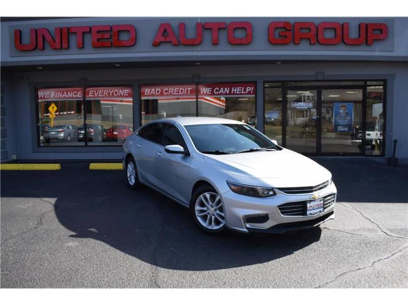 2018 Chevrolet Malibu for sale at United Auto Group in Putnam CT