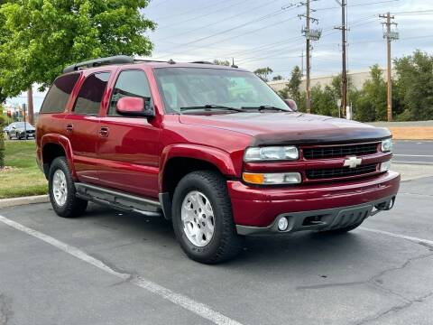 2003 Chevrolet Tahoe for sale at COUNTY AUTO SALES in Rocklin CA
