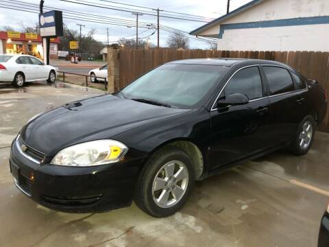 2008 Chevrolet Impala for sale at Texas Auto Broker in Killeen TX