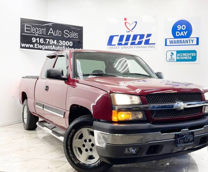 2005 Chevrolet Silverado 1500 for sale at Elegant Auto Sales in Rancho Cordova CA