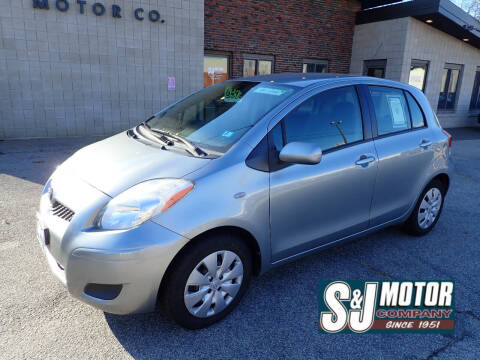 2009 Toyota Yaris for sale at S & J Motor Co Inc. in Merrimack NH