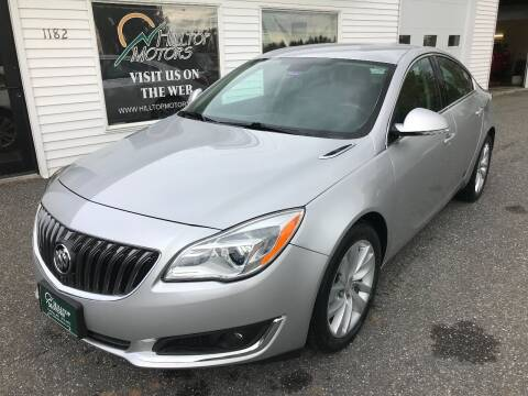 2014 Buick Regal for sale at HILLTOP MOTORS INC in Caribou ME