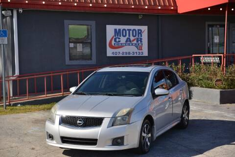 2011 Nissan Sentra for sale at Motor Car Concepts II - Kirkman Location in Orlando FL