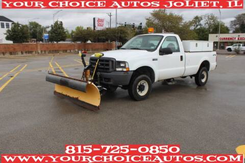 2004 Ford F-250 Super Duty for sale at Your Choice Autos - Joliet in Joliet IL