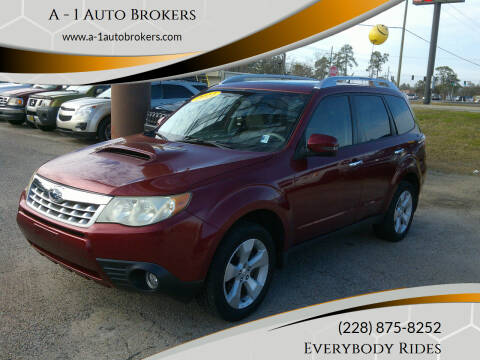 2011 Subaru Forester for sale at A - 1 Auto Brokers in Ocean Springs MS