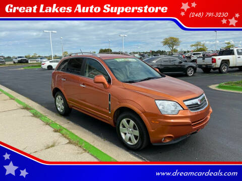 2008 Saturn Vue for sale at Great Lakes Auto Superstore in Waterford Township MI