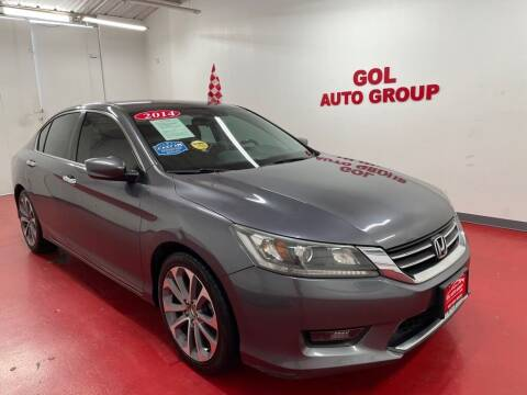 2014 Honda Accord for sale at GOL Auto Group in Austin TX