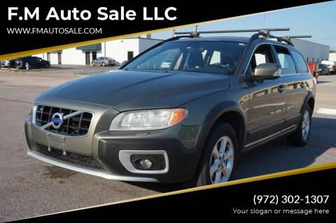 2010 Volvo XC70 for sale at F.M Auto Sale LLC in Dallas TX
