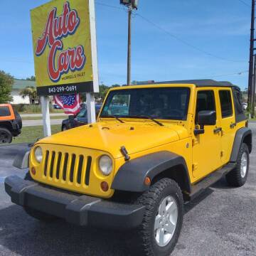 2008 Jeep Wrangler Unlimited for sale at Auto Cars in Murrells Inlet SC