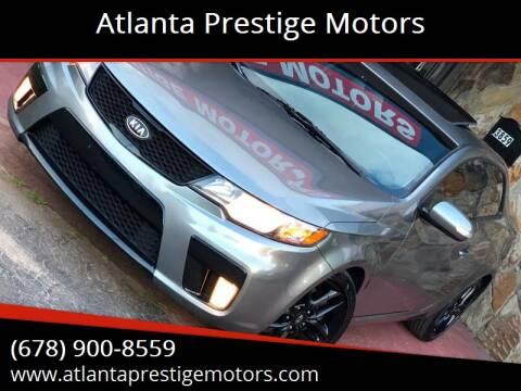 2010 Kia Forte Koup for sale at Atlanta Prestige Motors in Decatur GA