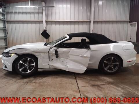 2016 Ford Mustang for sale at East Coast Auto Source Inc. in Bedford VA