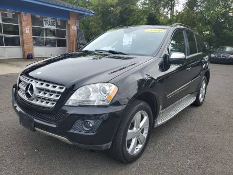 2010 Mercedes-Benz M-Class for sale at CENTRAL AUTO GROUP in Raritan NJ