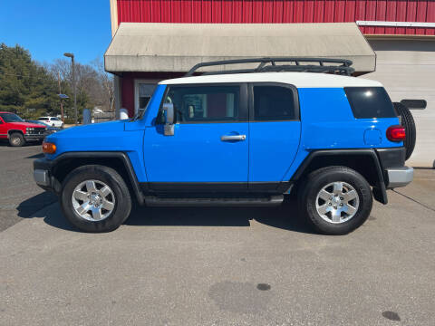 2007 Toyota FJ Cruiser for sale at JWP Auto Sales,LLC in Maple Shade NJ
