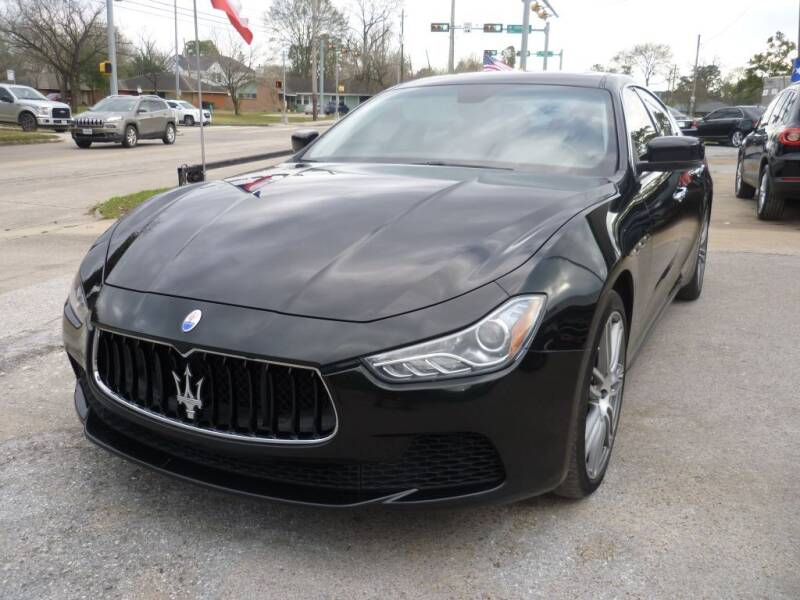 2015 Maserati Ghibli for sale at Auto Outlet Inc. in Houston TX