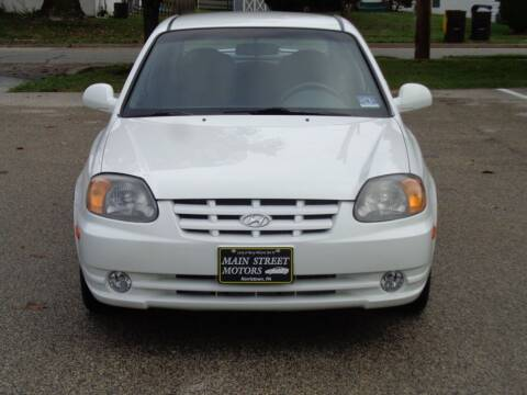 2005 Hyundai Accent for sale at MAIN STREET MOTORS in Norristown PA