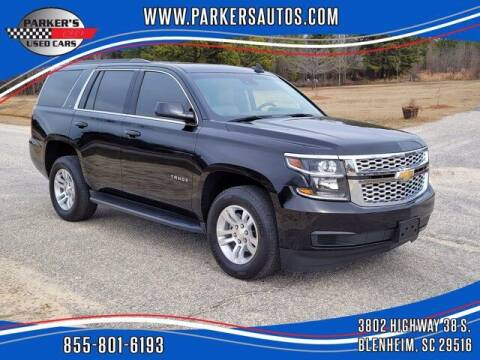 2019 Chevrolet Tahoe for sale at Parker's Used Cars in Blenheim SC