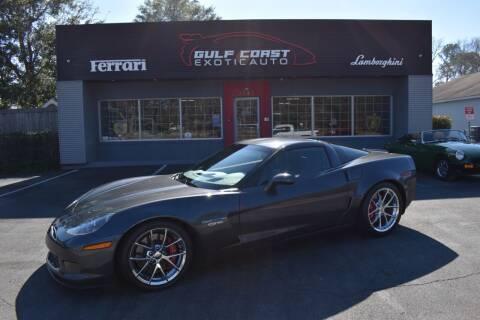 2009 Chevrolet Corvette for sale at Gulf Coast Exotic Auto in Biloxi MS