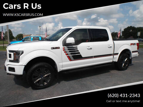 2018 Ford F-150 for sale at Cars R Us in Chanute KS