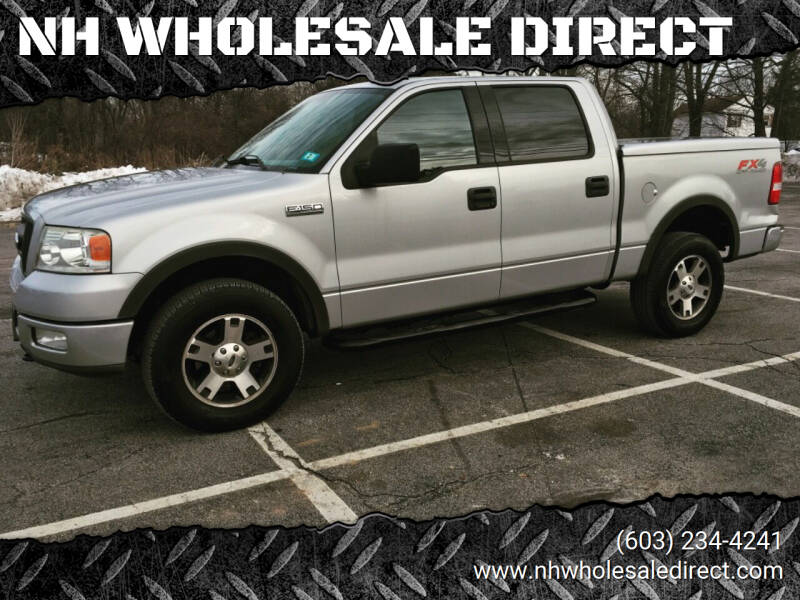 2004 Ford F-150 for sale at NH WHOLESALE DIRECT in Derry NH