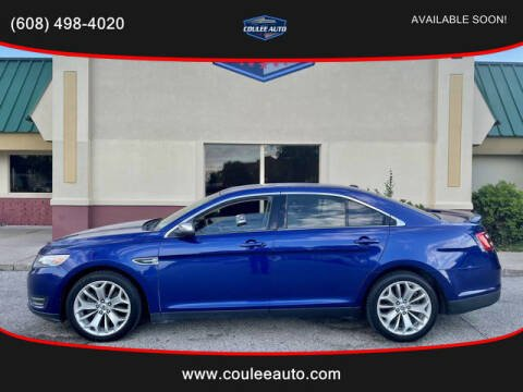 2013 Ford Taurus for sale at Coulee Auto in La Crosse WI