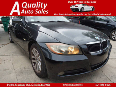 2006 BMW 3 Series for sale at A Quality Auto Sales in Metairie LA