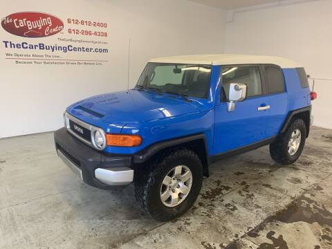 2007 Toyota FJ Cruiser for sale at The Car Buying Center in St Louis Park MN