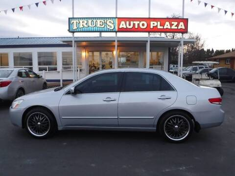 2003 Honda Accord for sale at True's Auto Plaza in Union Gap WA