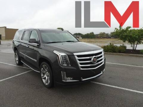 2015 Cadillac Escalade ESV for sale at INDY LUXURY MOTORSPORTS in Fishers IN