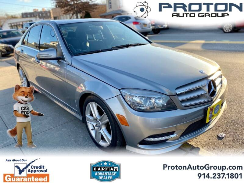 2011 Mercedes-Benz C-Class for sale at Proton Auto Group in Yonkers NY