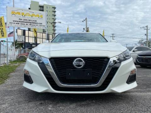 2020 Nissan Altima for sale at MIAMI AUTO LIQUIDATORS in Miami FL