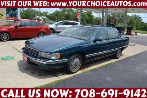 1994 Cadillac DeVille for sale at Your Choice Autos - Crestwood in Crestwood IL