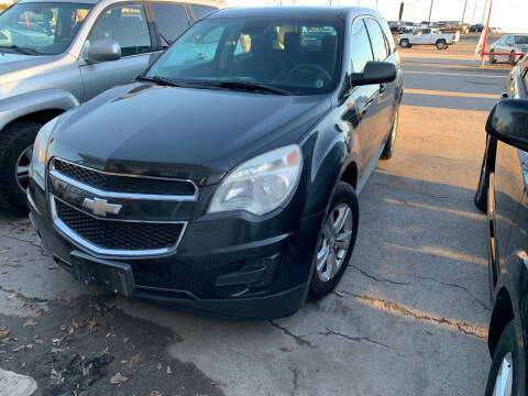 2014 Chevrolet Equinox for sale at BULLSEYE MOTORS INC in New Braunfels TX