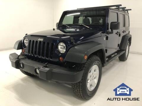 2013 Jeep Wrangler Unlimited for sale at Auto House Phoenix in Peoria AZ