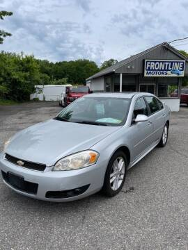 2012 Chevrolet Impala for sale at Frontline Motors Inc in Chicopee MA