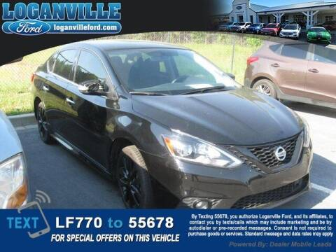 2018 Nissan Sentra for sale at Loganville Quick Lane and Tire Center in Loganville GA