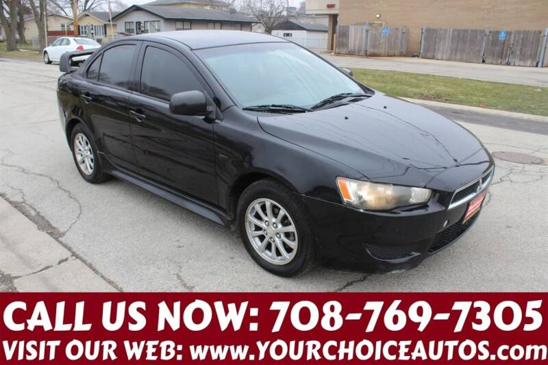2010 Mitsubishi Lancer for sale at Your Choice Autos in Posen IL
