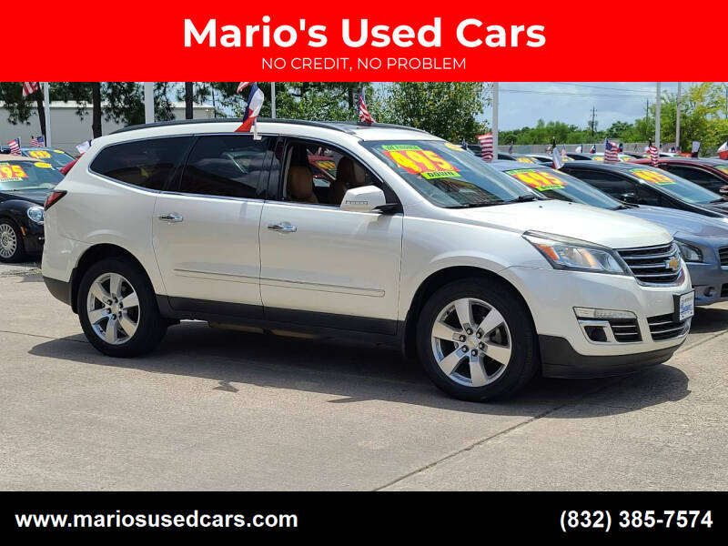 2014 Chevrolet Traverse for sale at Mario's Used Cars in Houston TX