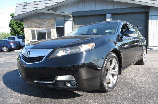 2012 Acura TL for sale at Eddie Auto Brokers in Willowick OH