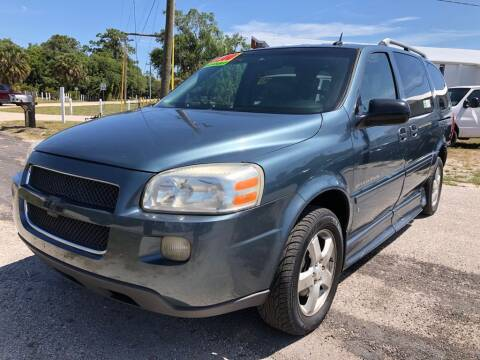 2007 Chevrolet Uplander for sale at EXECUTIVE CAR SALES LLC in North Fort Myers FL