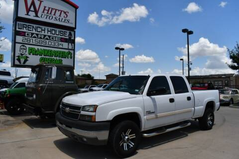 2005 Chevrolet Silverado 2500HD for sale at WHITT'S AUTO SALES, LLC in Houston TX