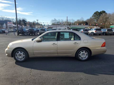 2002 Lexus LS 430 for sale at A-1 Auto Sales in Anderson SC