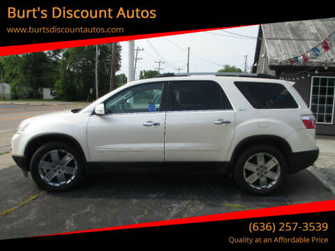 2010 GMC Acadia for sale at Burt's Discount Autos in Pacific MO