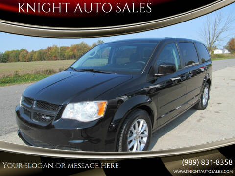 2013 Dodge Grand Caravan for sale at KNIGHT AUTO SALES in Stanton MI
