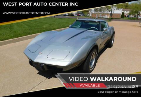 1978 Chevrolet Corvette for sale at WEST PORT AUTO CENTER INC in Fenton MO