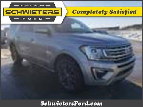 2020 Ford Expedition MAX for sale at Schwieters Ford of Montevideo in Montevideo MN