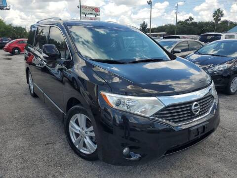 2012 Nissan Quest for sale at Mars auto trade llc in Kissimmee FL