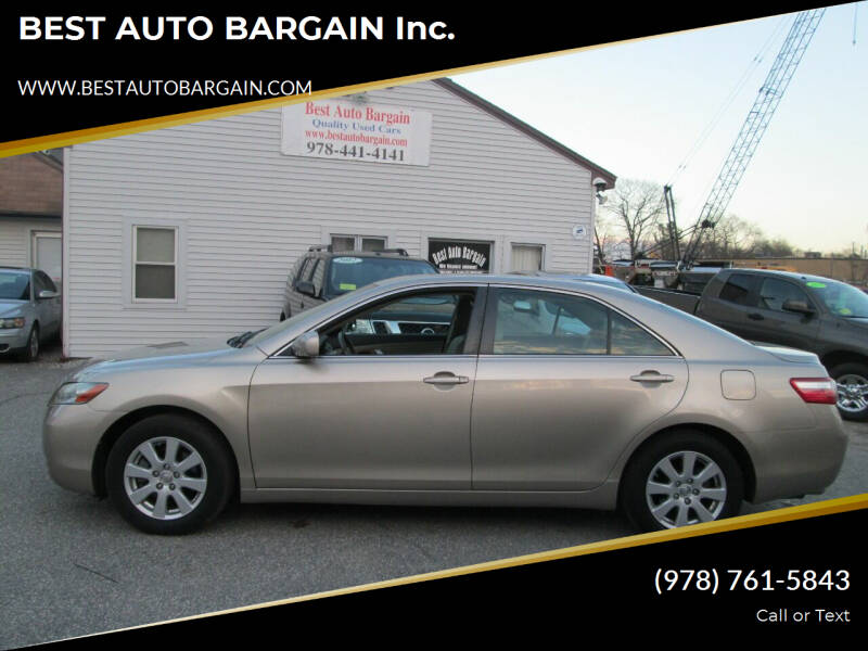 2007 Toyota Camry for sale at BEST AUTO BARGAIN inc. in Lowell MA